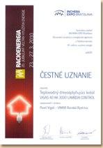 Cestn� uznanie Racioenergia 2010